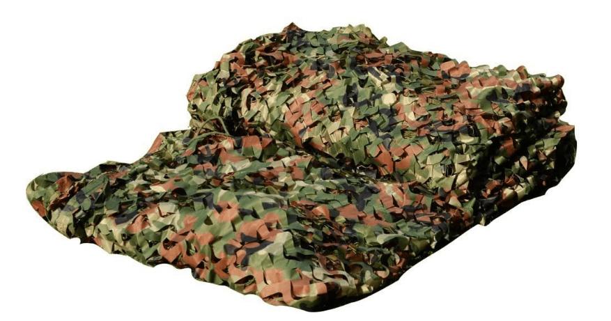 LOOGU Custom Woodland Camo Netting