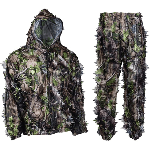 North Mountain Gear Leafy Camouflage