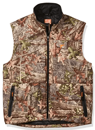 Plythal Mens Prima-Heat Camouflage Hunting Vest