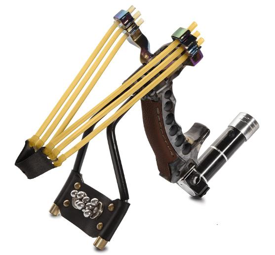 Adjustable Laser Slingshot